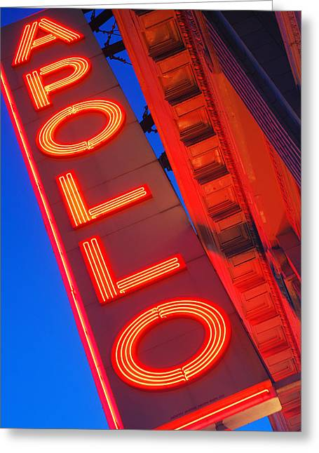 Apollo Nights Greeting Card