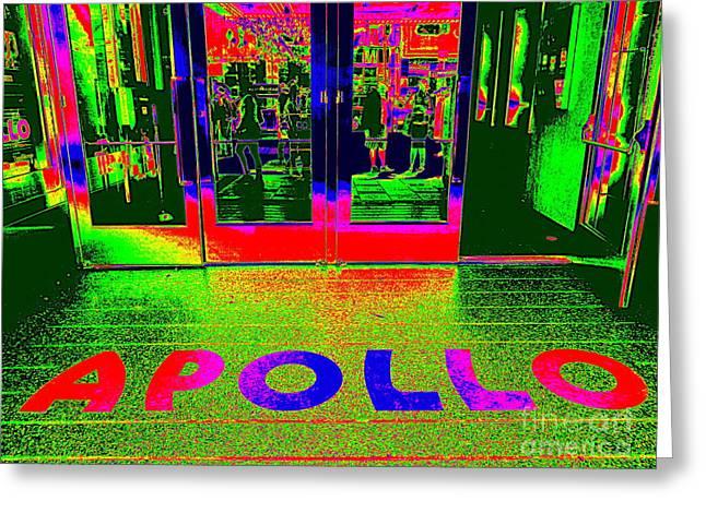 Apollo Pop Greeting Card by Ed Weidman