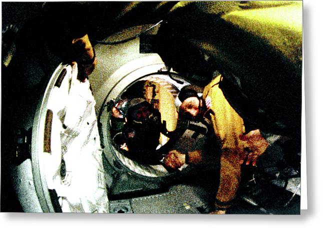 Apollo Soyuz Test Project Docking Greeting Card by Nasa