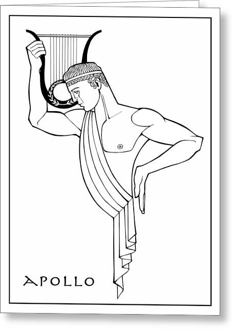 Apollo Greeting Card