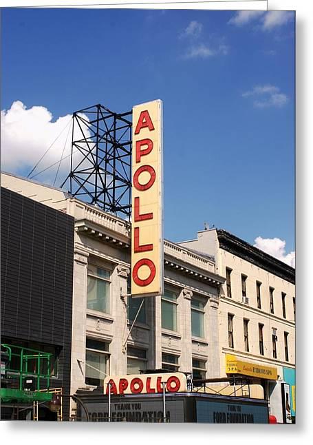 Apollo Theater Greeting Card by Martin Jones