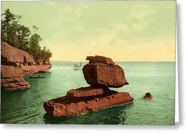 Apostle Islands Sphinx Greeting Card by Granger