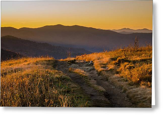 Greeting Card featuring the photograph Appalachian Afternoon by Serge Skiba