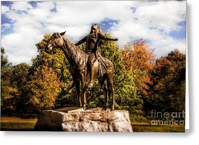 Appeal To The Great Spirit Greeting Card by Tamyra Ayles