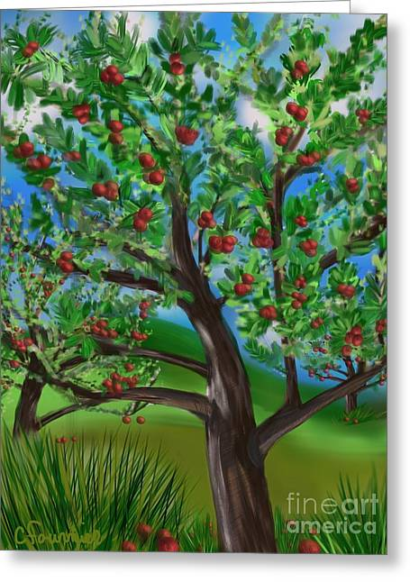 Apple Acres Greeting Card