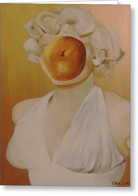 Apple Of Her Eye Greeting Card