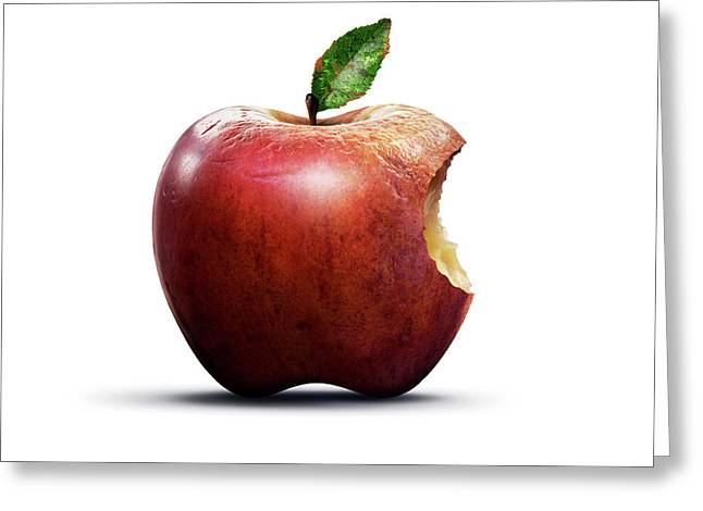 Apple Of Knowledge Greeting Card