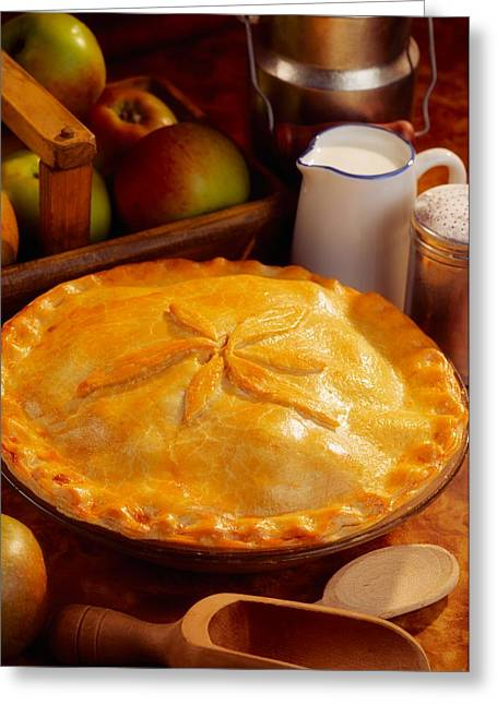 Apple Pie Greeting Card by The Irish Image Collection