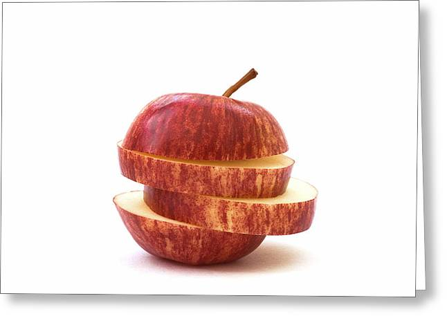 Apple Slices Greeting Card