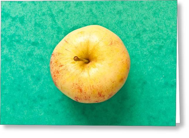 Apple Greeting Card by Tom Gowanlock