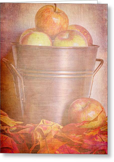 Apples Aplenty  Greeting Card by Heidi Smith