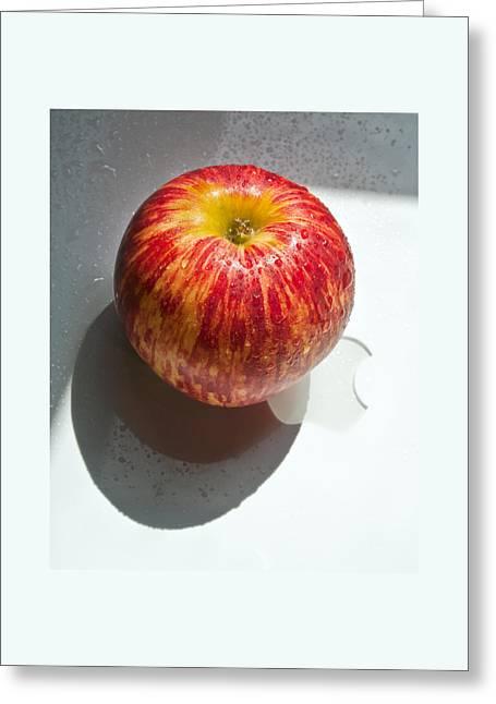 Apples Greeting Card by Daniel Furon