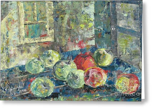 Apples - Sold Greeting Card