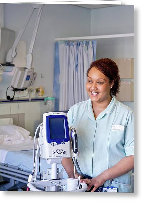 Apprentice Clinical Support Worker Greeting Card by Lth Nhs Trust