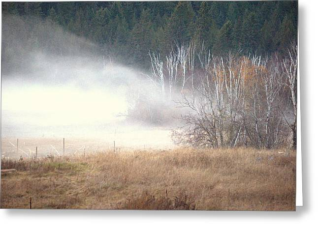 Approaching Mist Greeting Card