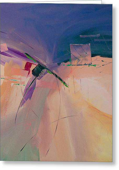 Approaching Storm Greeting Card by Paulette B Wright