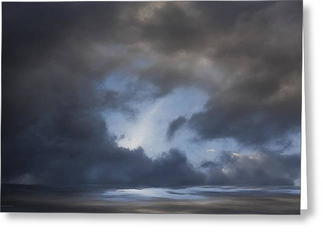 Approaching Storm Greeting Card by Ron Jones