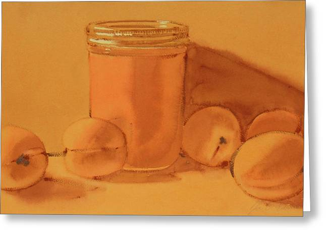 Apricot Preserves Greeting Card