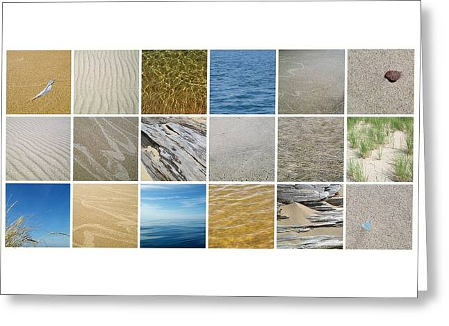 April Beach 2.0 Greeting Card by Michelle Calkins