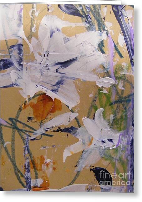 April Showers 1 Greeting Card by Nancy Kane Chapman