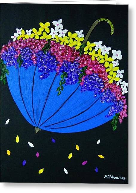 April Showers... Greeting Card