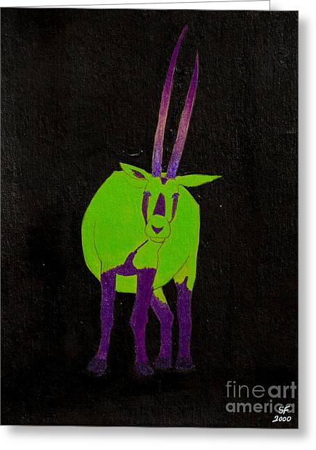 Arabian Oryx Greeting Card