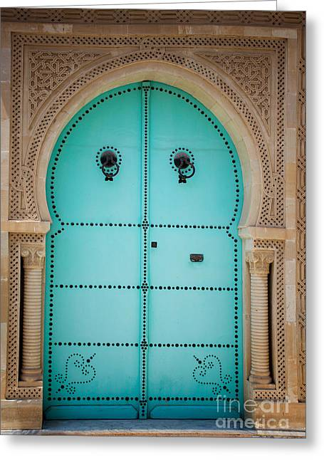 Arabic Door Greeting Card