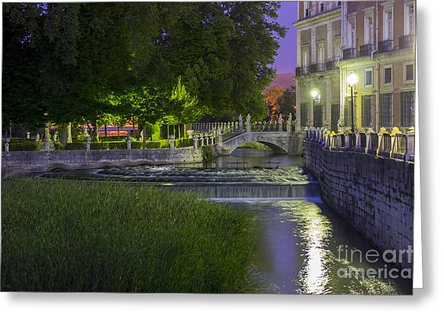 Aranjuez By Night Greeting Card