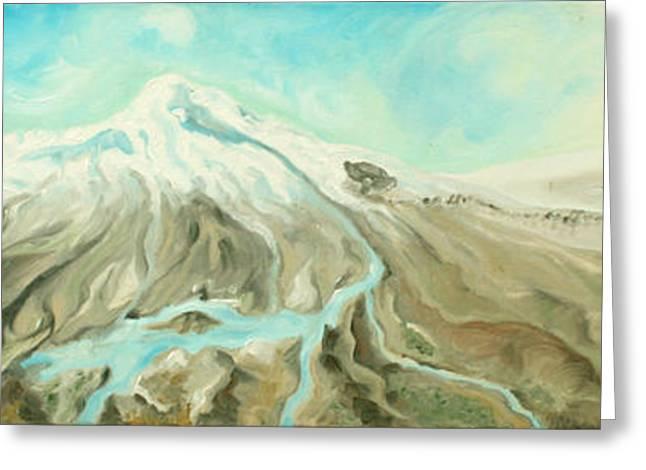 Ararat Greeting Card by Sandra Yegiazaryan