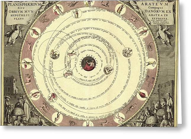Aratus Planisphere Greeting Card