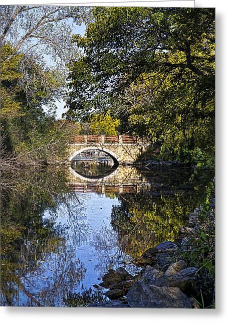 Arboretum Drive Bridge - Madison - Wisconsin Greeting Card