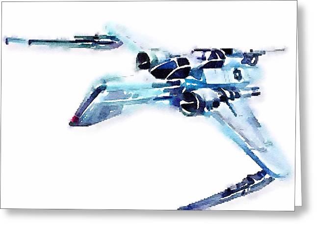 Arc-170 Starfighter Greeting Card