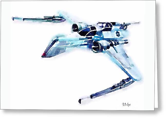 Arc-170 Starfighter Greeting Card