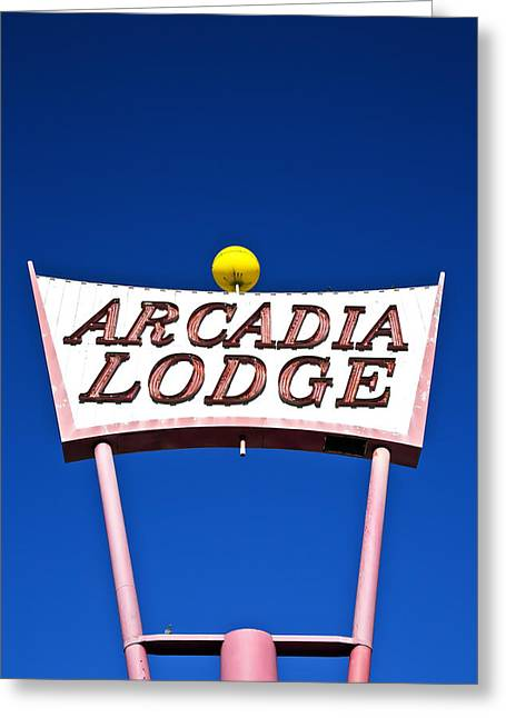 Arcadia Lodge Greeting Card