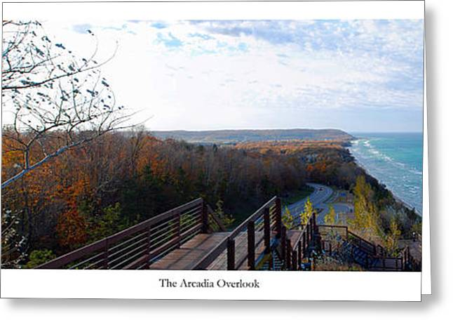 Arcadia Overlook Greeting Card by Twenty Two North Photography