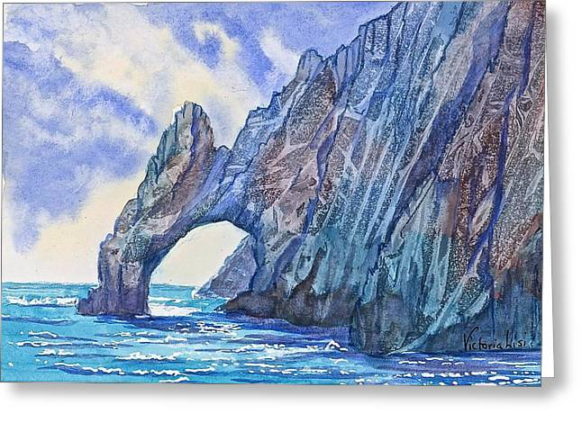 Arch At Cabo Greeting Card