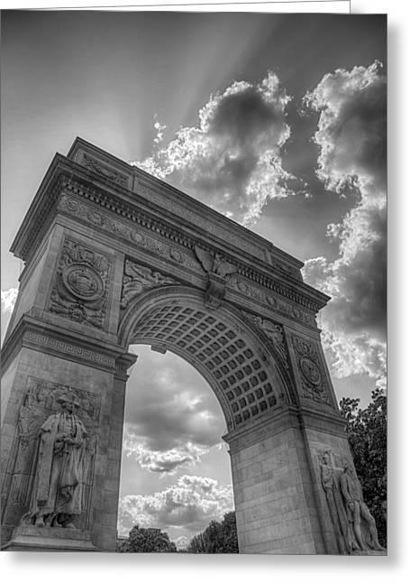 Arch At Washington Square Greeting Card