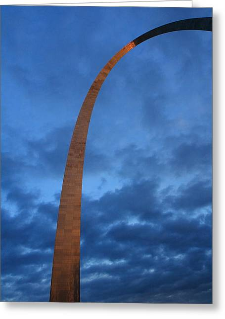 Arch Glow Greeting Card