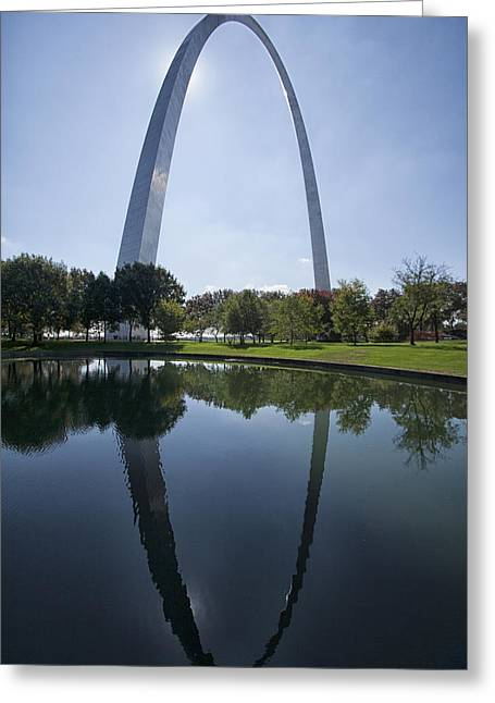 Arch Reflection Greeting Card