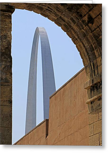 Arch Study 19 Greeting Card by Christopher McKenzie