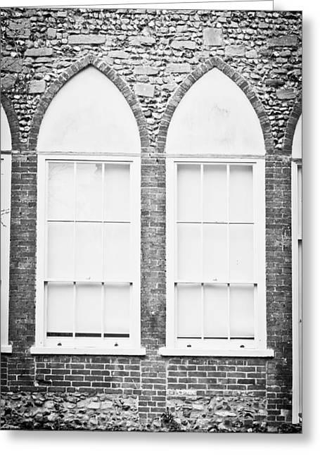 Arch Window Greeting Card by Tom Gowanlock