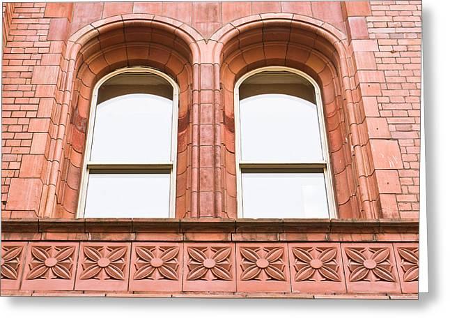 Arch Windows Greeting Card by Tom Gowanlock