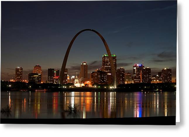 Arch Work Greeting Card by Joe Scott