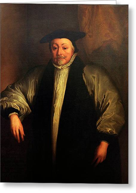 Archbishop William Laud Greeting Card by Bodleian Museum/oxford University Images