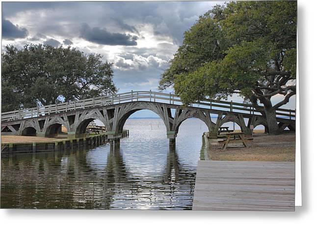 Arched Bridge I Greeting Card