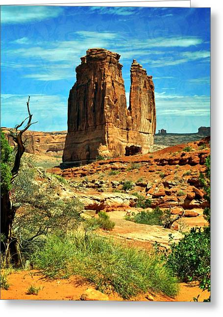 Arches 23 Greeting Card by Marty Koch