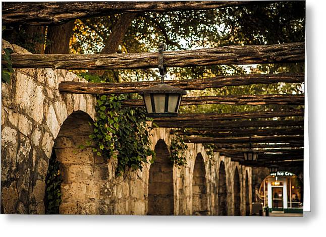 Arches At The Alamo Greeting Card