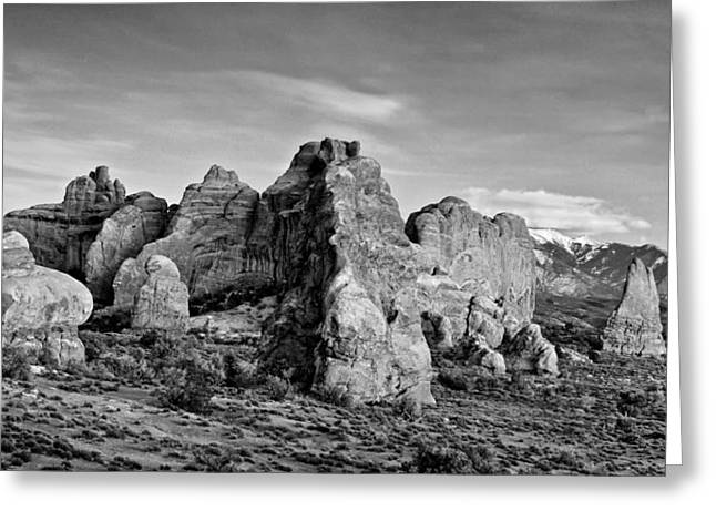 Arches  Greeting Card by Darryl Wilkinson