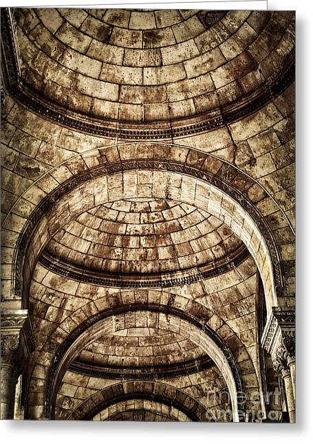 Arches Greeting Card by Elena Elisseeva