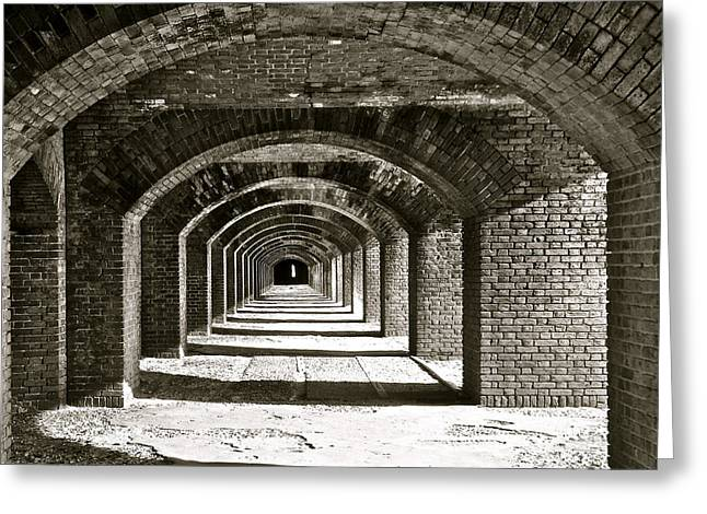 Arches Greeting Card by Kim Pippinger